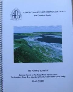 Seismic Hazard Range Front Thrust Faults FieldTrip Book