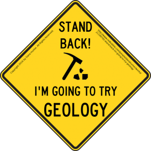 Geology sign